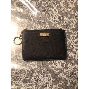 Kate Spade all black coin purse